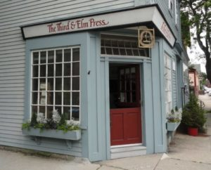 Visit to the Third and Elm Press, March 24