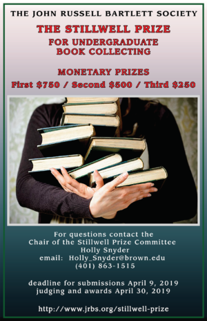 Stillwell Prize Ceremony 2019